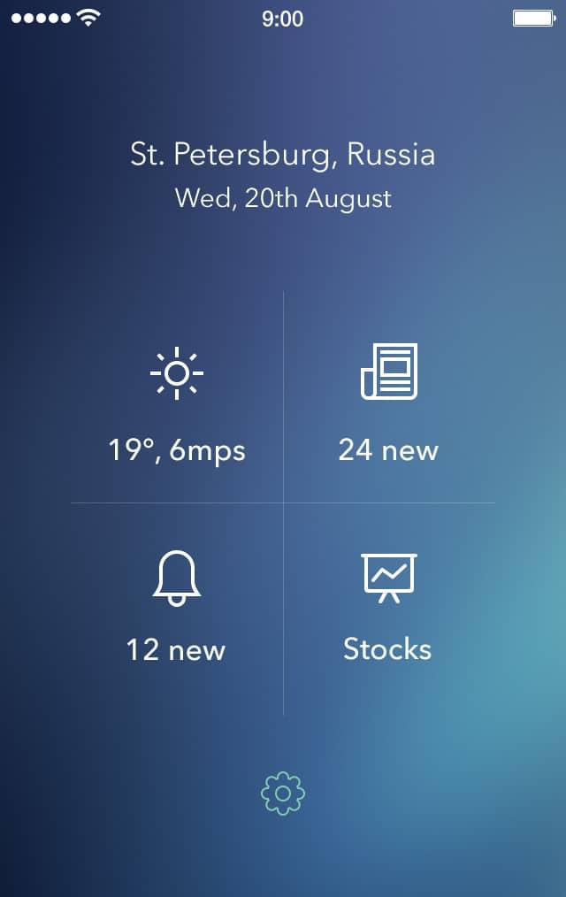 WRNC App UI PSD