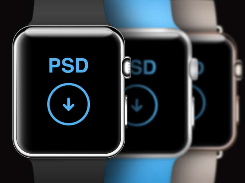 Watch PSD Template