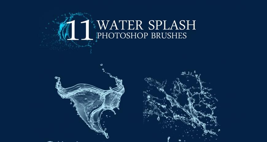 Photoshop Water Splash Brushes Water Splash Photoshop Brushes
