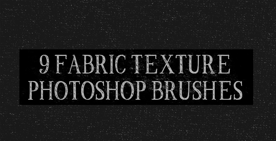 fabric texture photoshop brushes