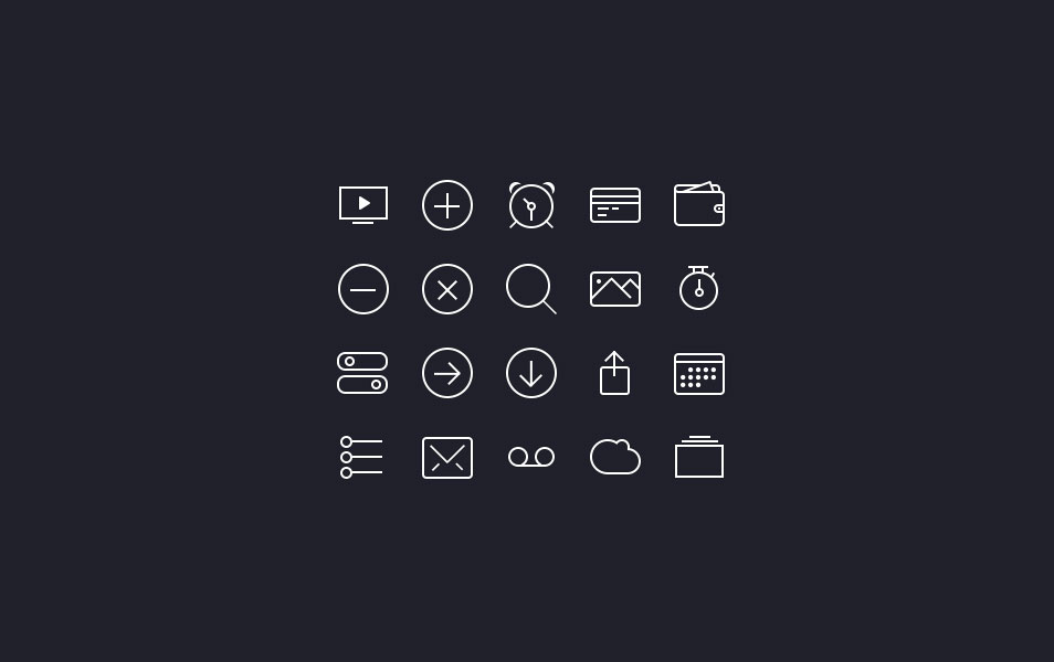 iOS7 Icon Set