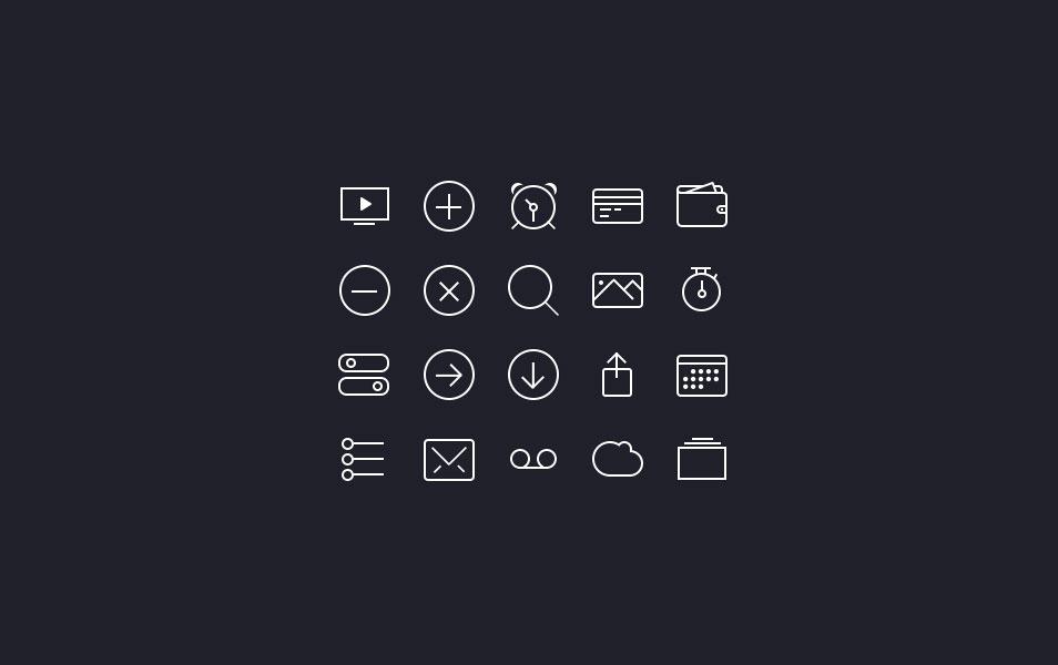 iOS7 Icon Set