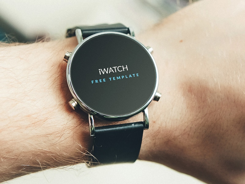 iWatch Free Template PSD