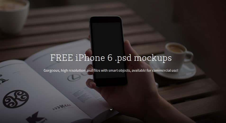 12x FREE iPhone 6 PSD mockups