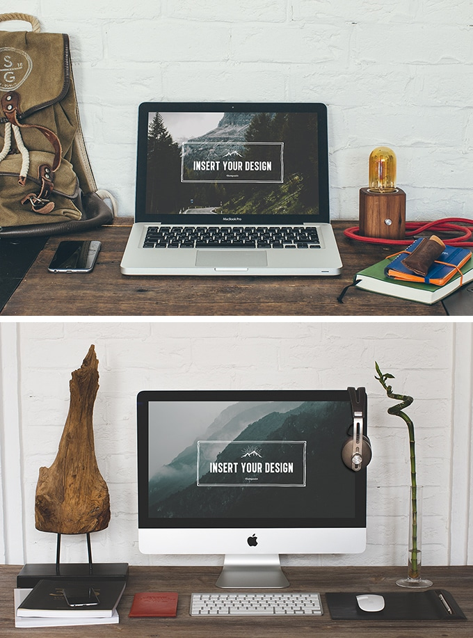 2 Hip Desktop Mock-ups