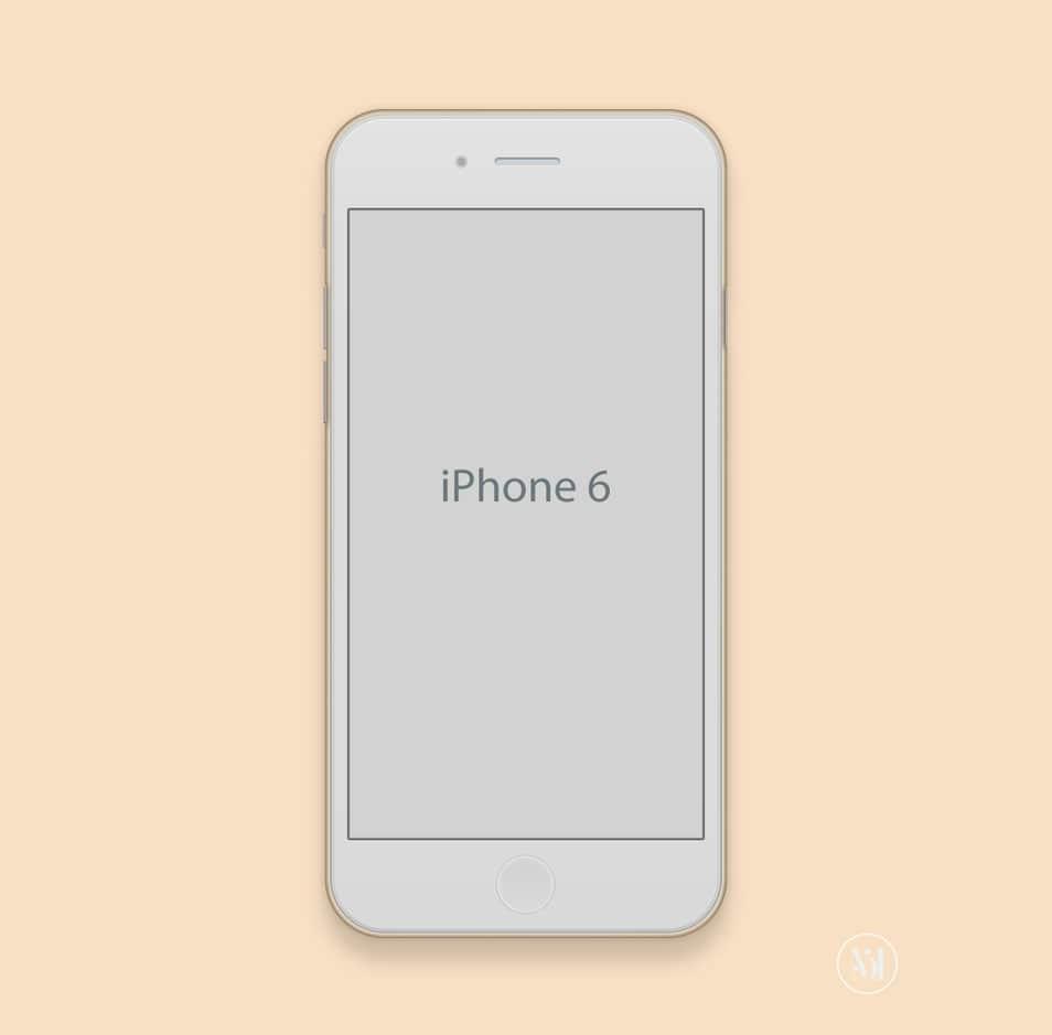 Apple Iphone 6 Mockup