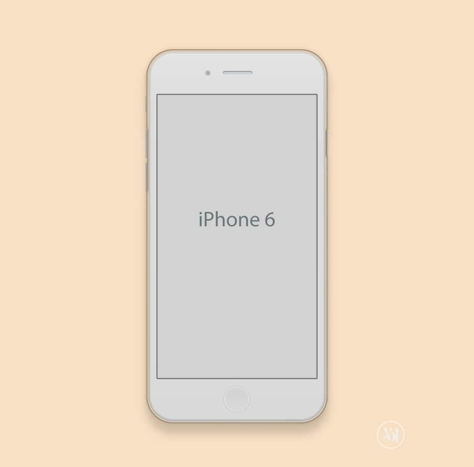 apple iphone 6 mockup. Black Bedroom Furniture Sets. Home Design Ideas