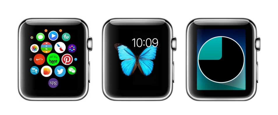 Apple Watch Screen PSD