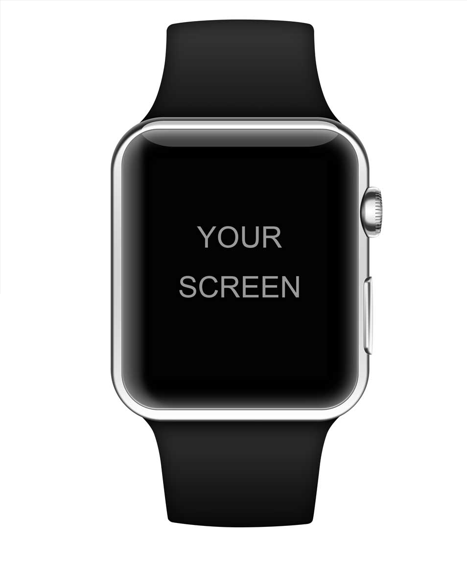 Apple watch moqup