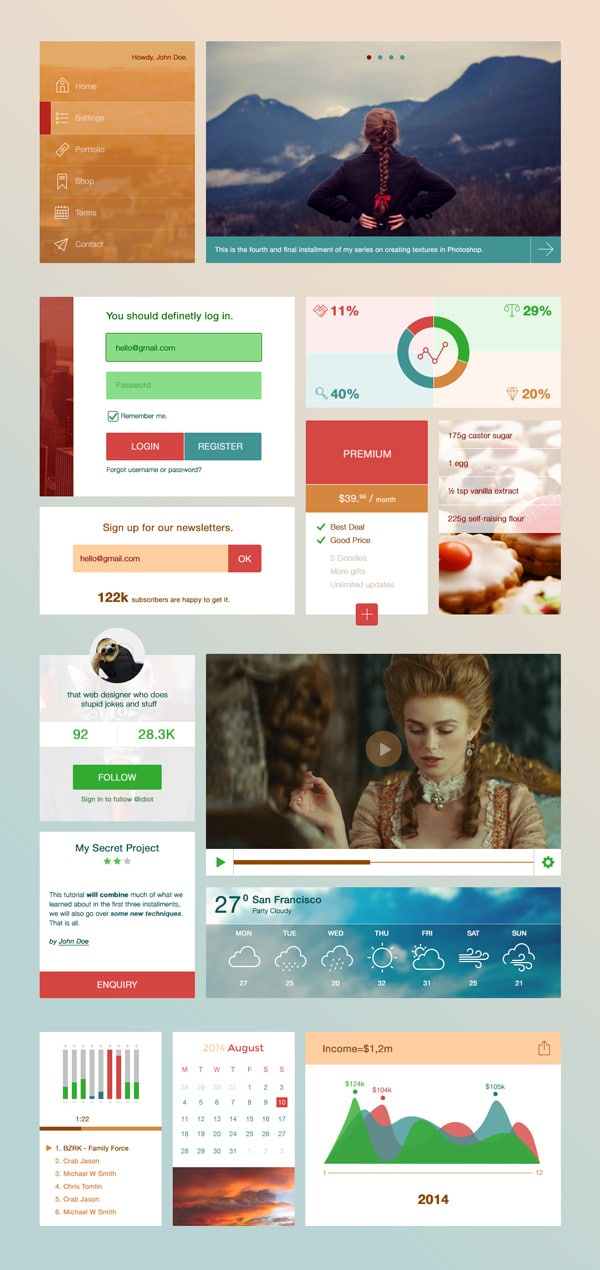 Breezy UI Kit