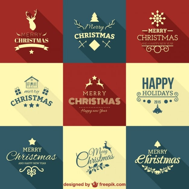 Christmas Greetings Vectors