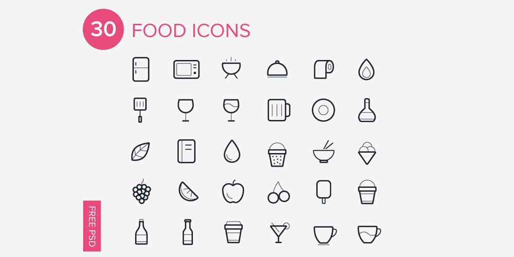 Foods Icons