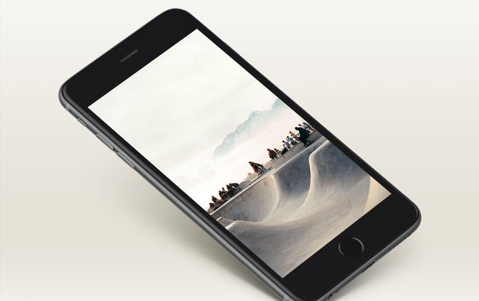 Free Awesome iPhone 6+ Mockup