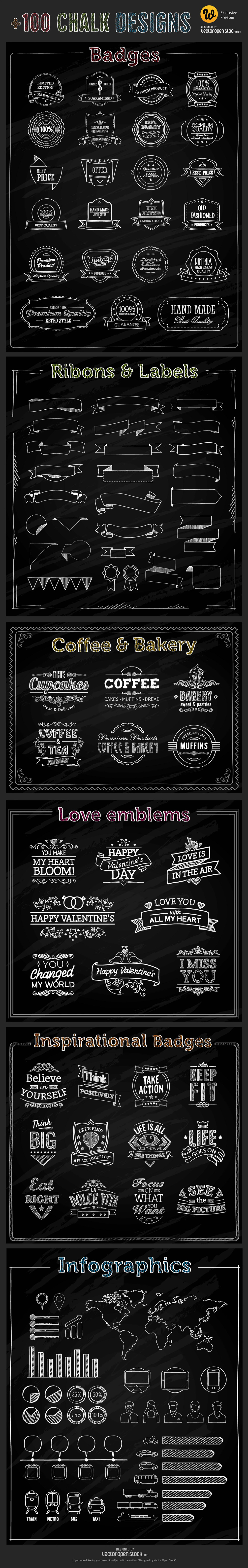 Free-Chalk-Vector-Elements