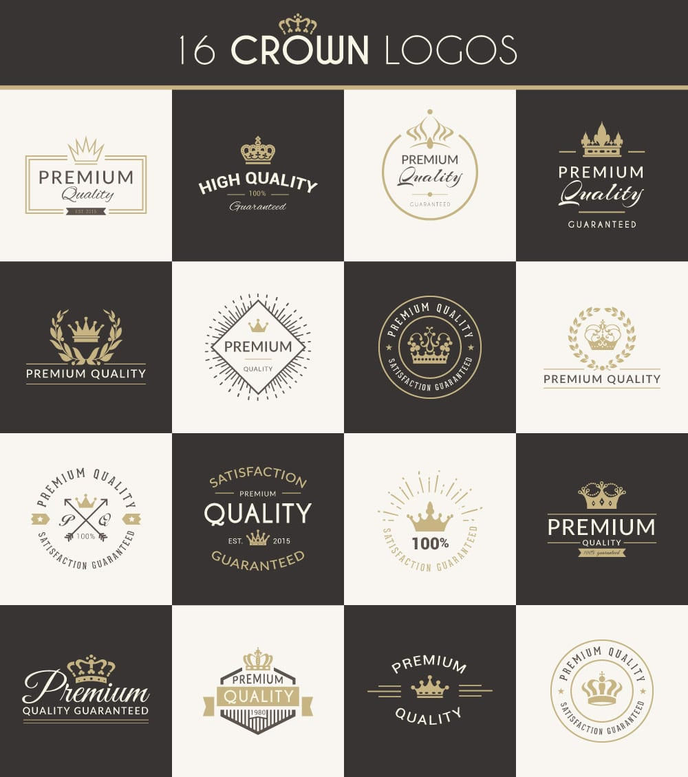 Free Crown Logos Vector