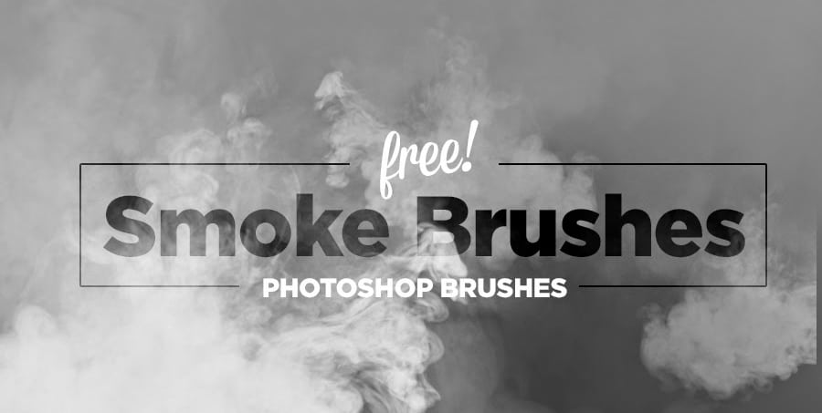 Free Hi-Res Smoke Photoshop Brushes