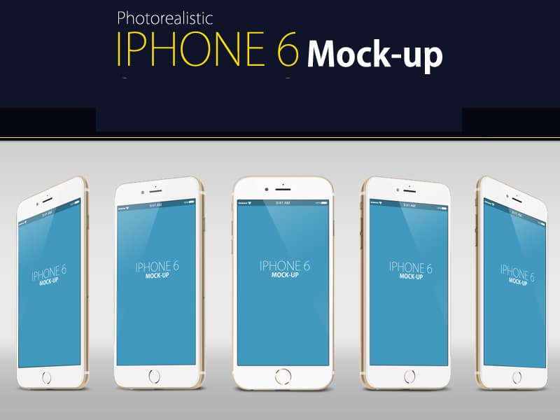 Free IPhone 6 Mock up