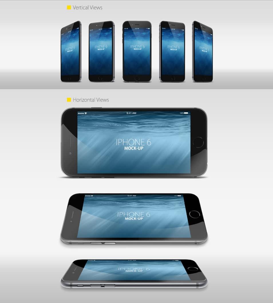 Free IPhone 6 Mock up