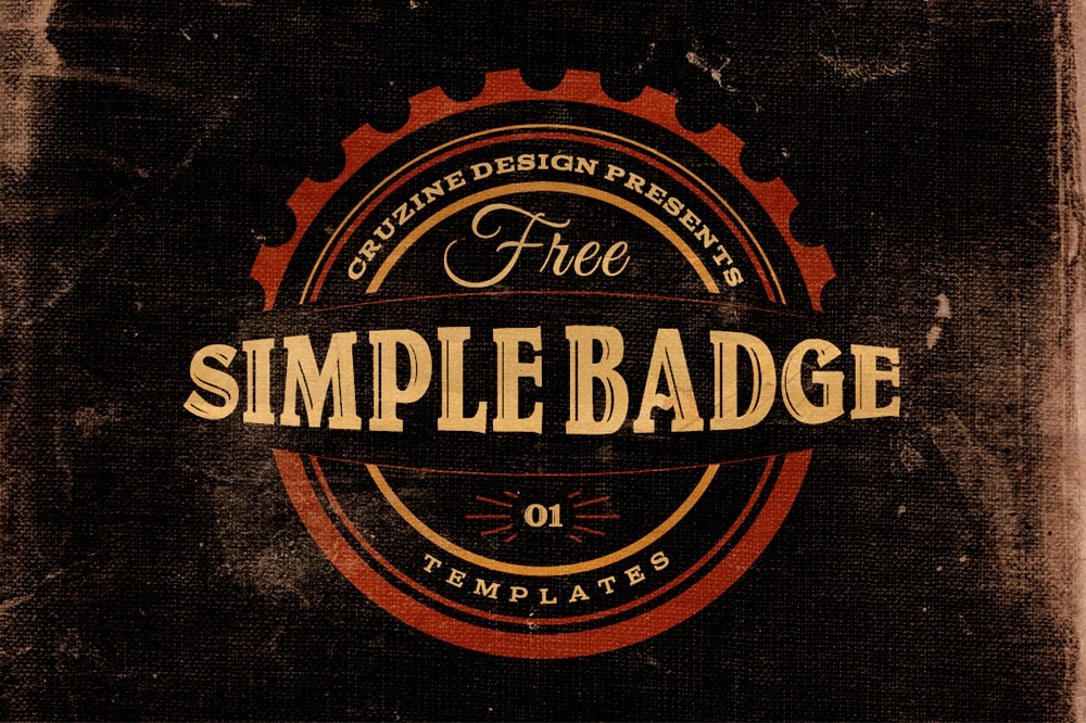 Free Simple Badge Templates