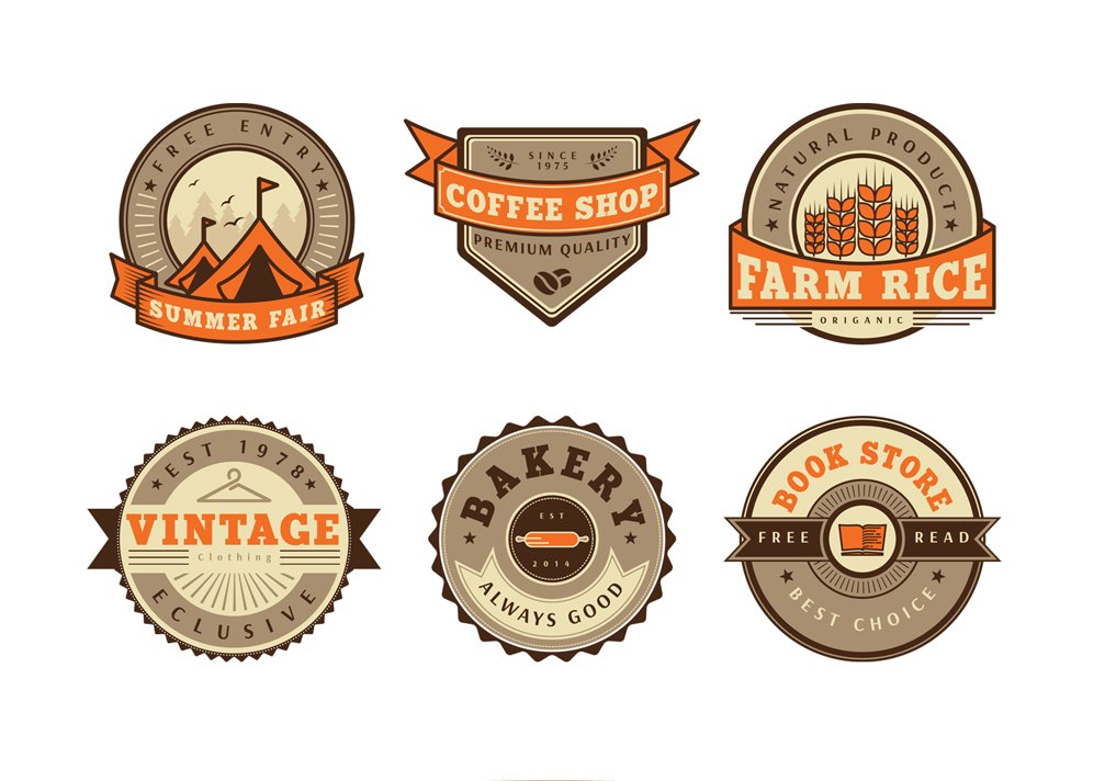 Free Vintage Badge Vector
