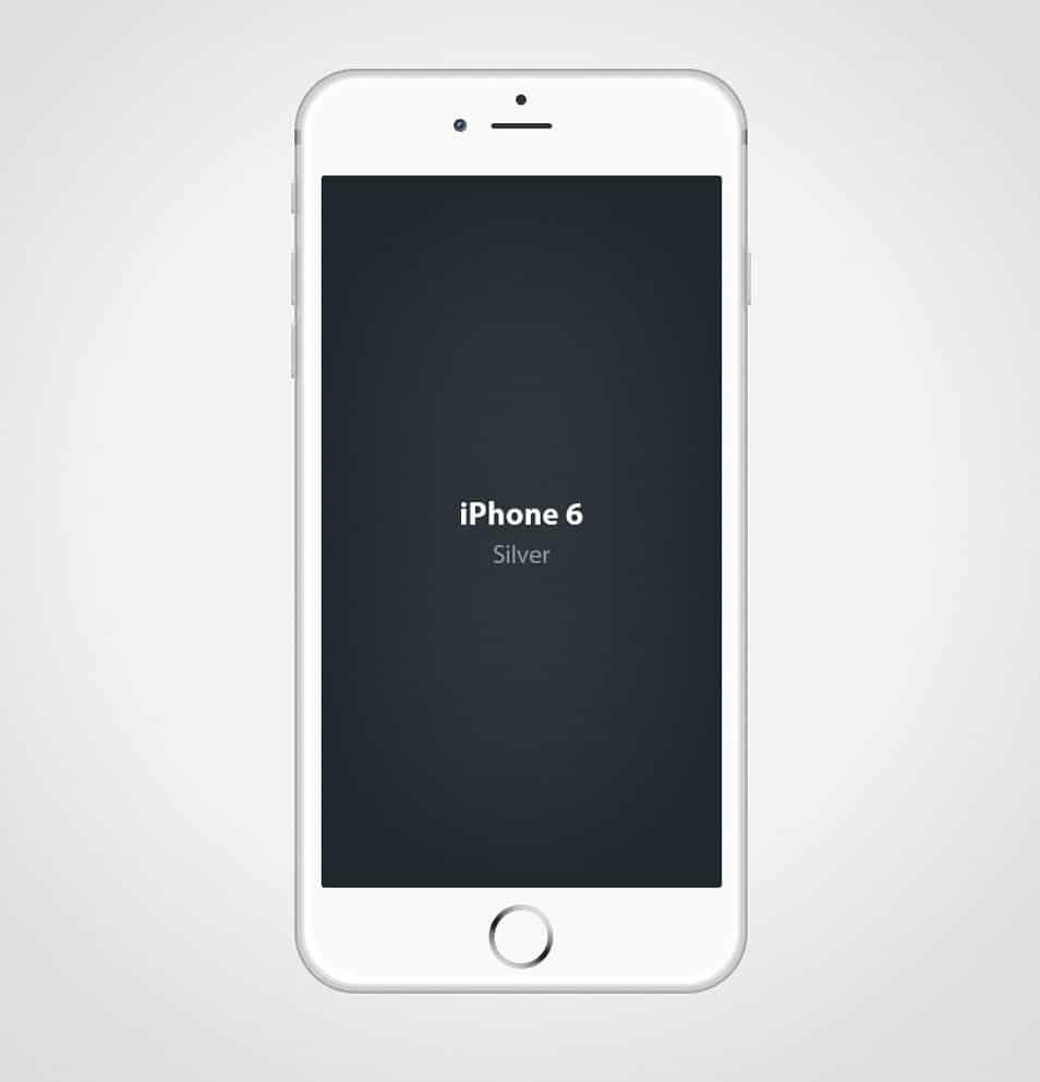 Iphone 6 Mockup PSD