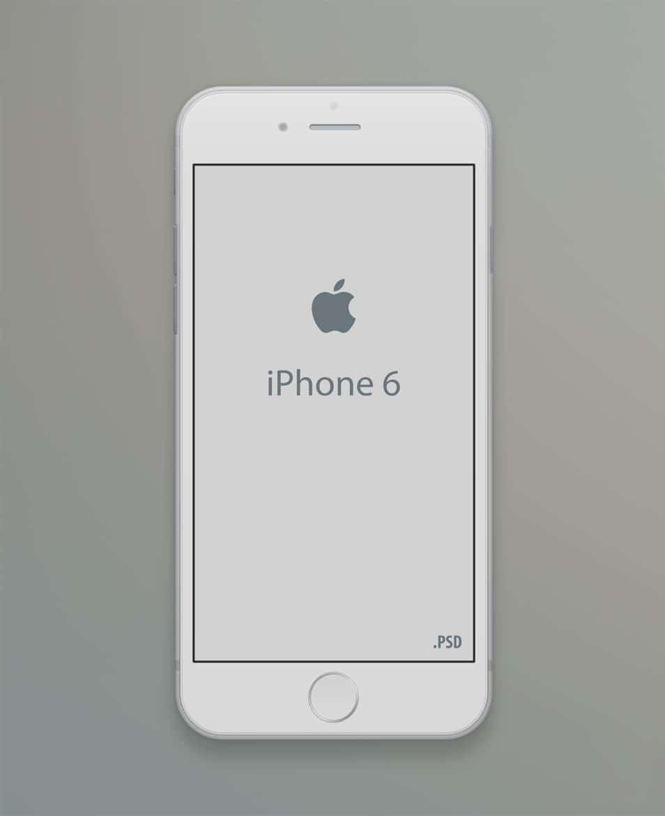 Iphone 6 Mockup Template PSD