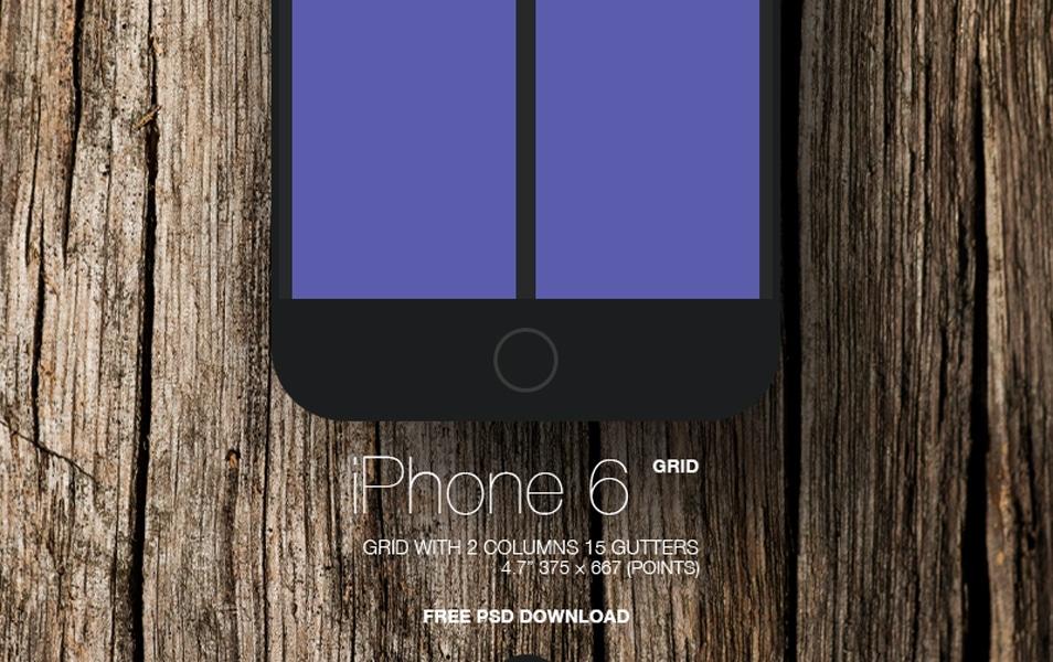 Iphone 6 Simple Grid