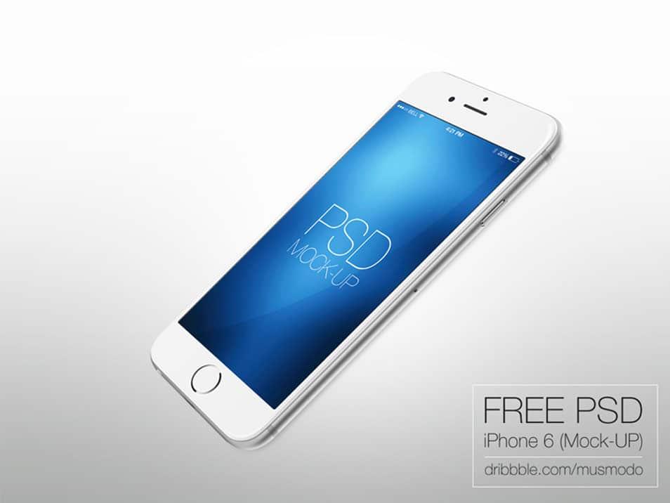 Iphone 6 free mock-up