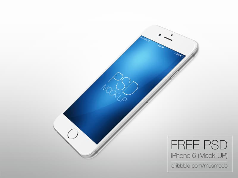 Iphone 6 free mock up