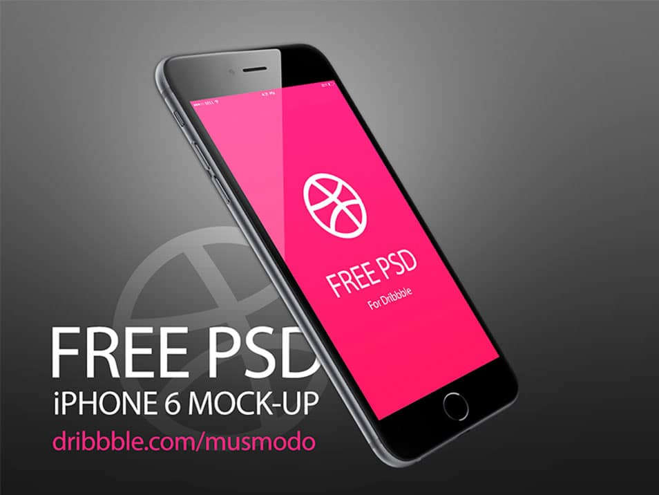 Iphone 6 plus free mock-up