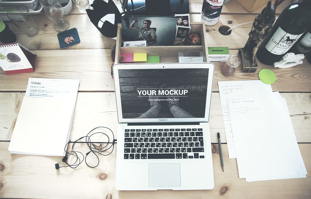 MacBook Air 13 Mockup PSD