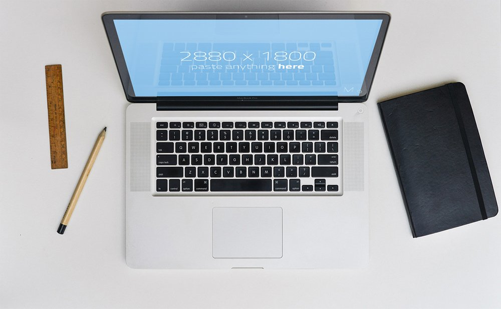 Macbook Pro and Air Mockups PSD
