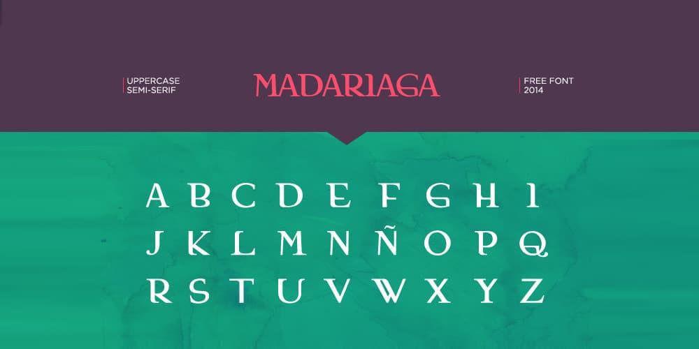 madariaga-free-font