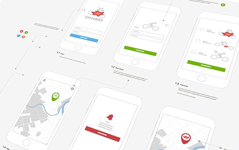 Presentation Dynabike iPhone 6