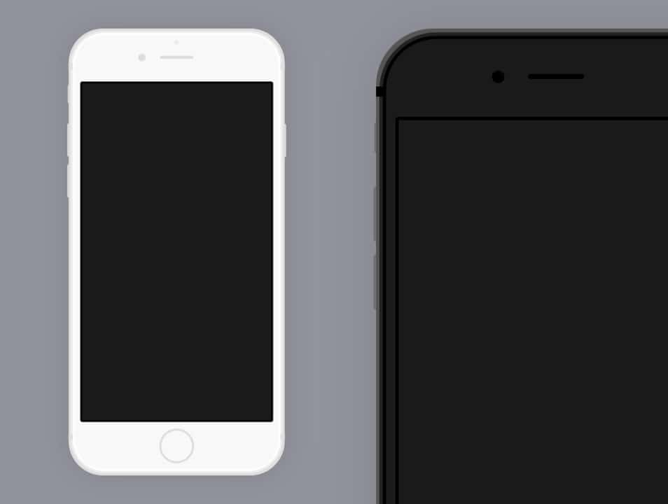 Simple iPhone 6/6+ for Sketch