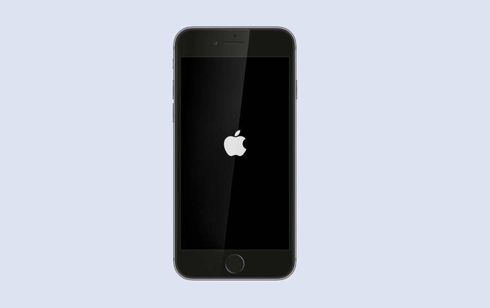 Space Grey iPhone 6 Mock up