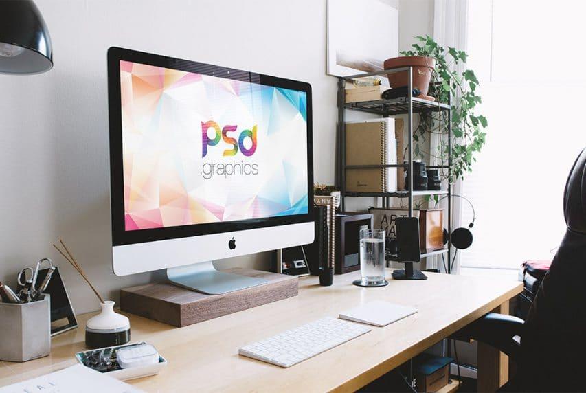 iMac Mockup PSD