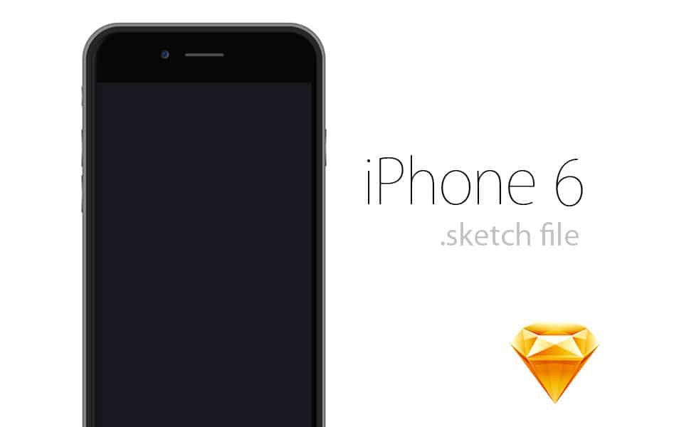 iPhone 6 .sketch