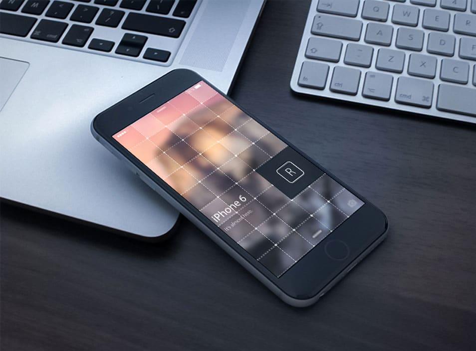 iPhone 6 3D Render
