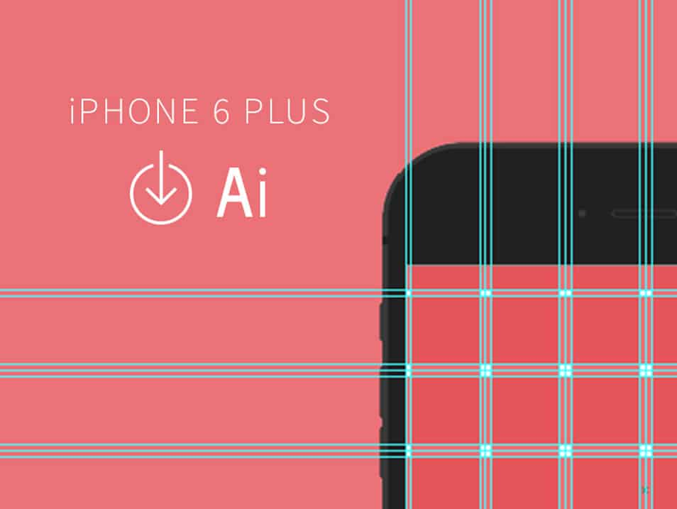 iPhone 6 & 6 Plus Grid Templates