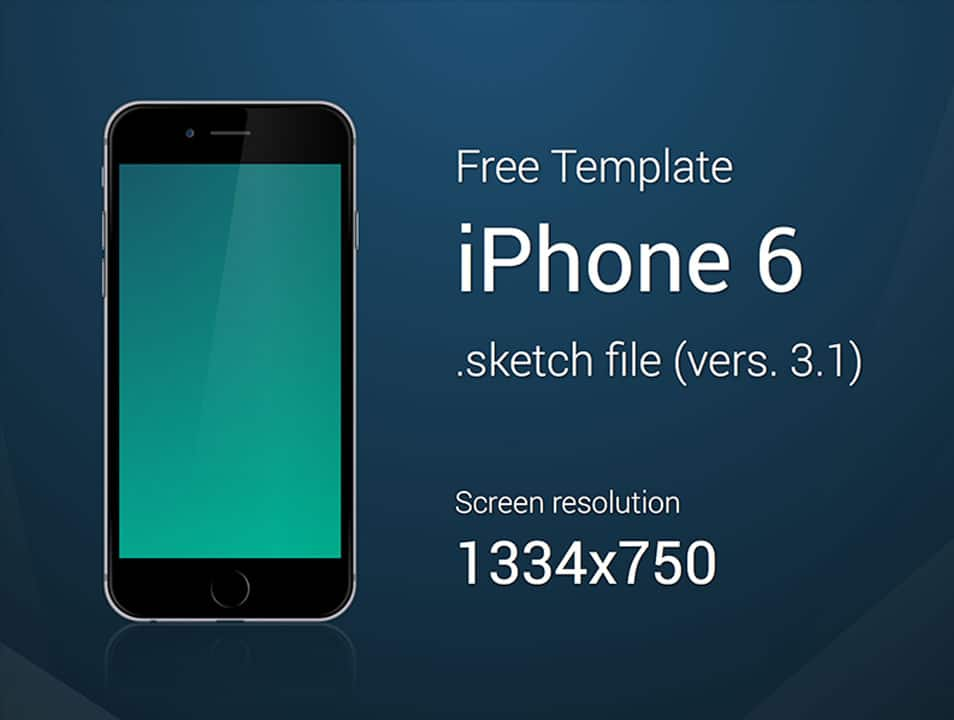 iPhone 6 - Free Template
