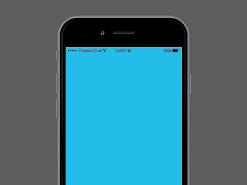iPhone 6 Illustrator Template