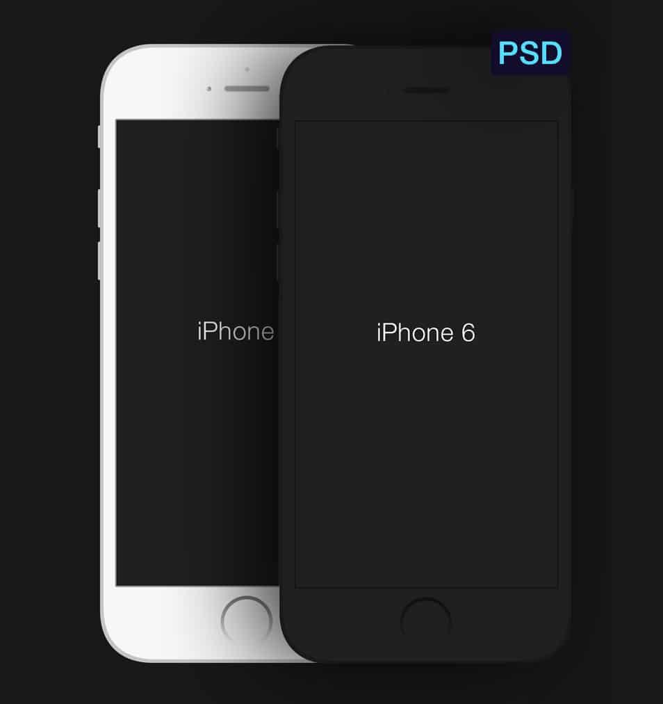iPhone 6 Minimal PSD