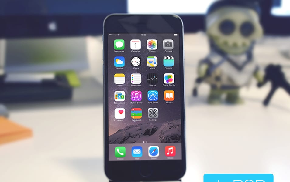 iPhone 6 Mockup Free PSD