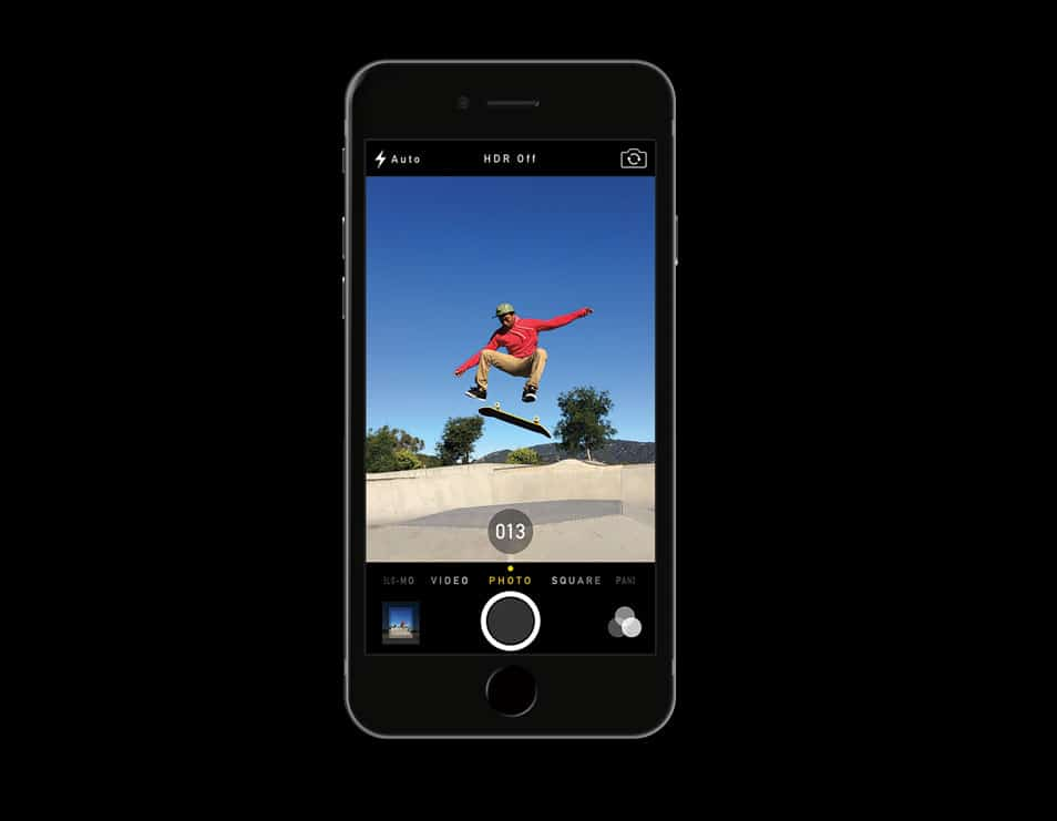 iPhone 6 PSD Mockup Template