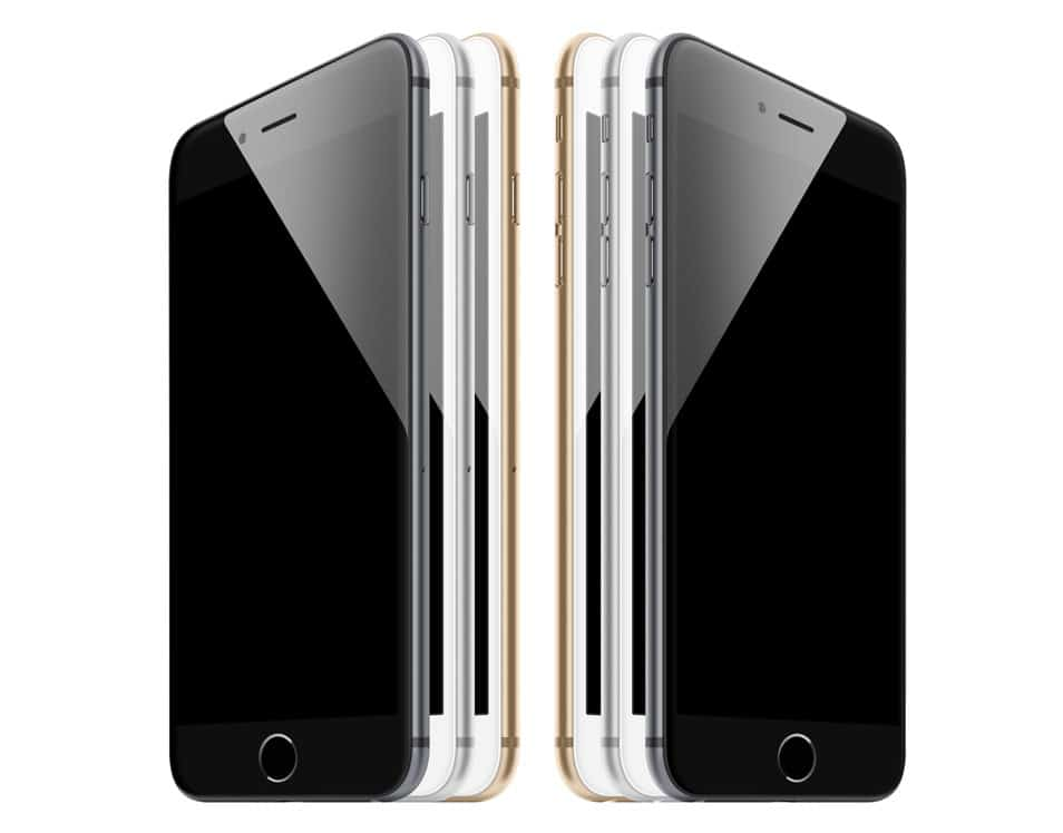 iPhone 6 - Scalable Mockups 3/4
