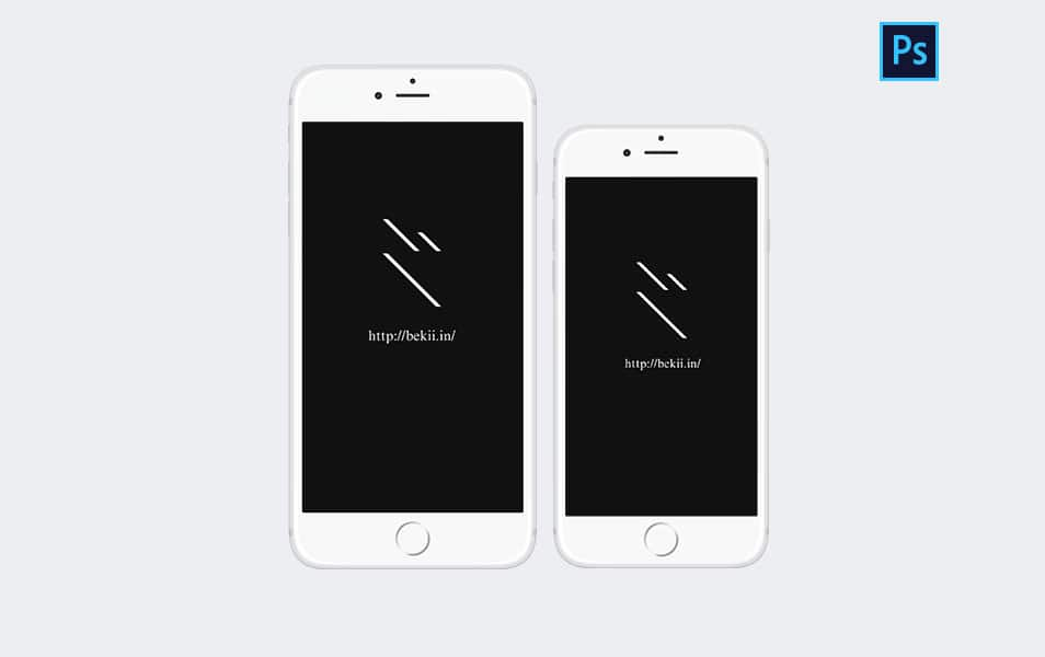 iPhone 6 & iPhone 6 Plus Mockup