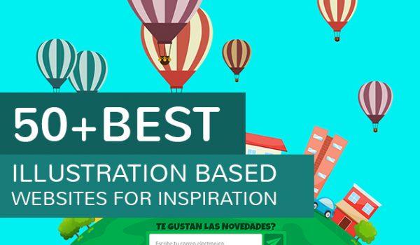 50+ Best illustration based websites for Inspiration