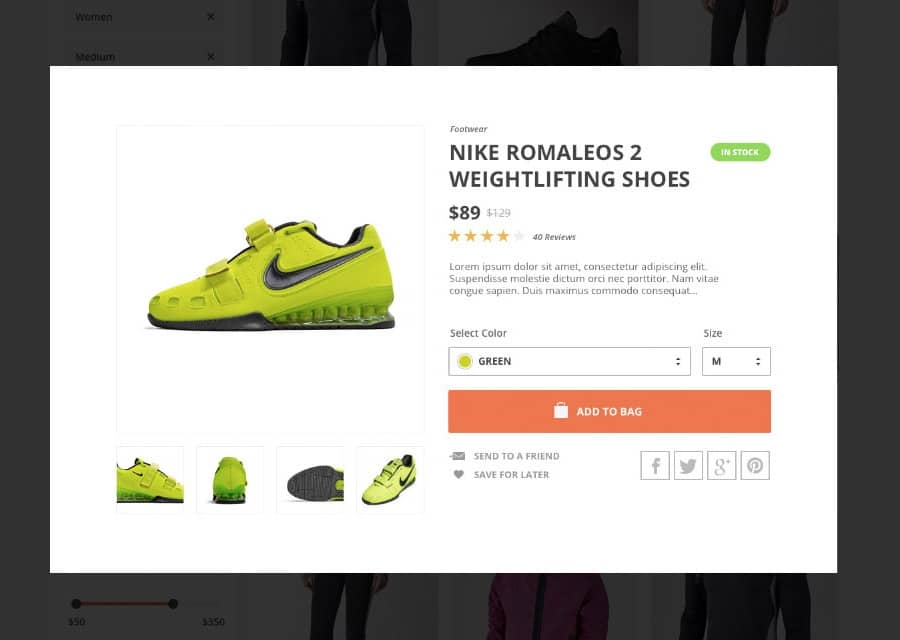 Active Store UI Kit to Create a Layout