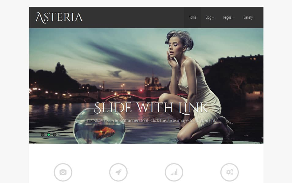 Asteria Lite Free Portfolio WordPress Theme